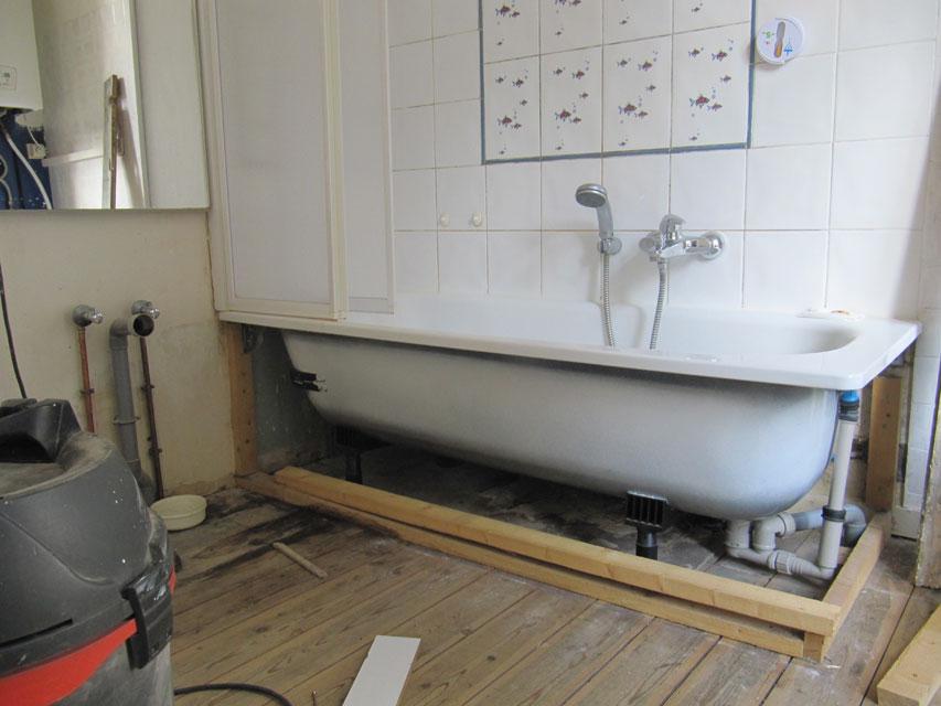 R alisations diverses menuiserie fontaine - Restauration salle de bain ...